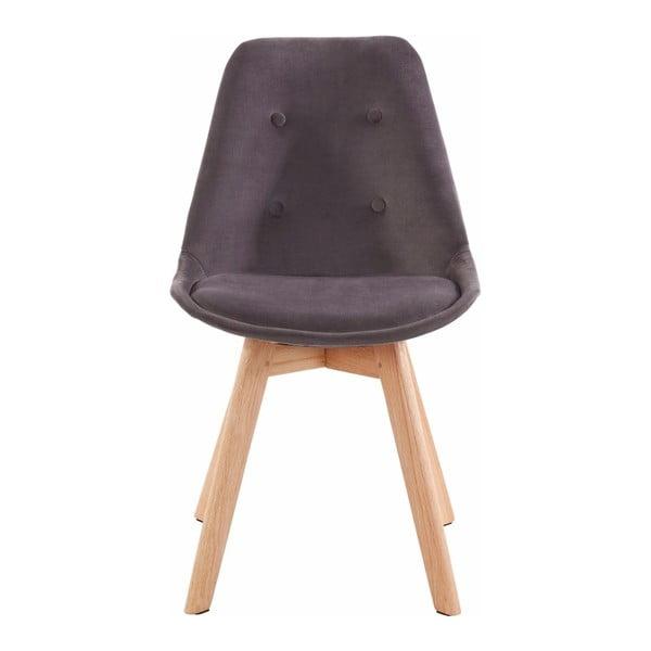 Sada 2 tmavě šedých jídelních židlí Støraa Ohio