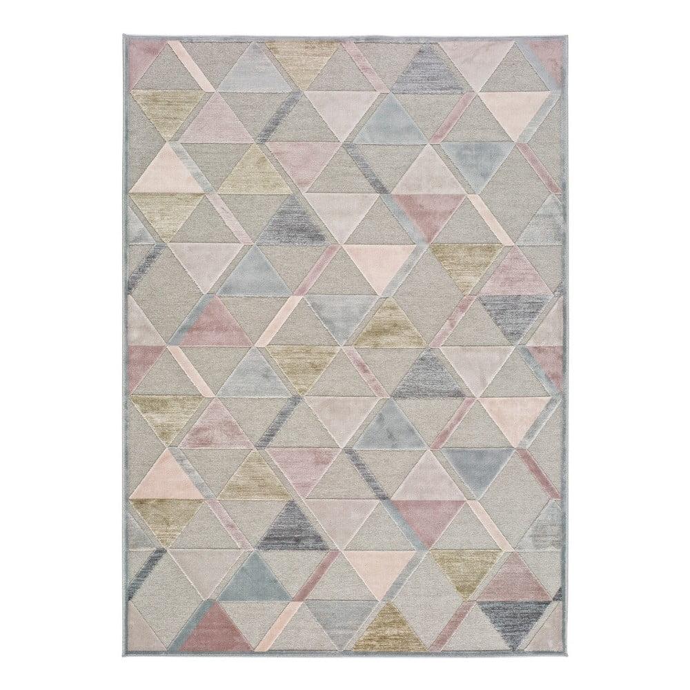 Šedý koberec Universal Margot Triangle, 120 x 170 cm