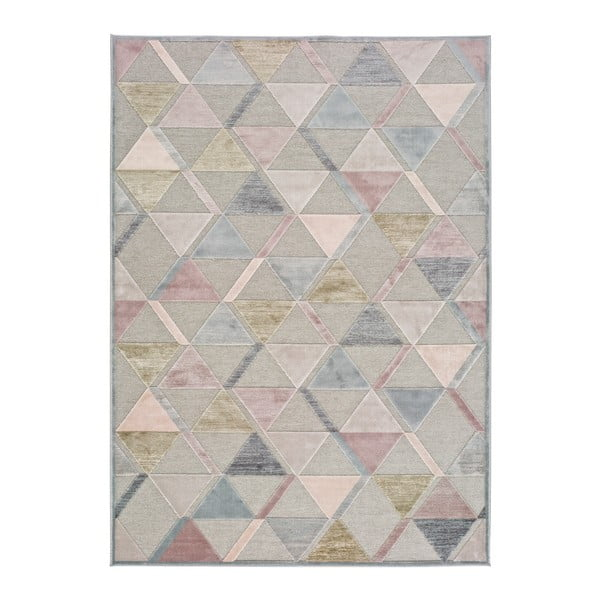 Šedý koberec Universal Margot Triangle, 60 x 110 cm