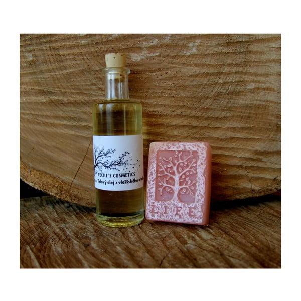 Dárková sada mýdlo a olej, švestka