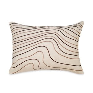 Polštář Waves White, 35x50 cm