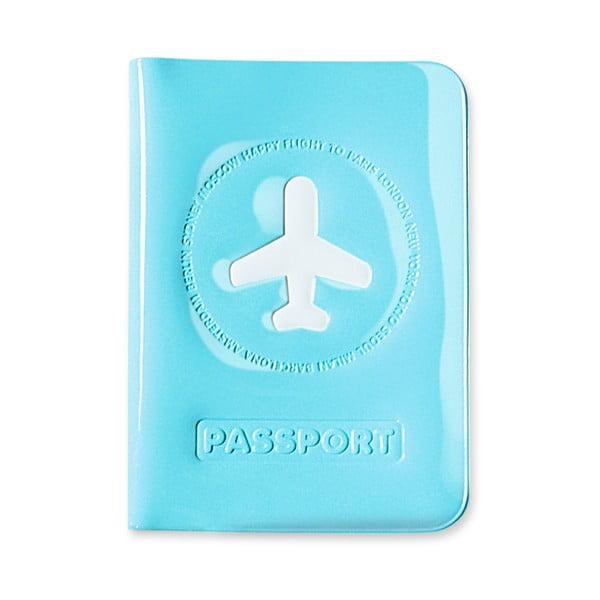 Stylové pouzdro na pas, modré