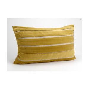 Polštář s náplní Pleat Velvet, 30x50 cm