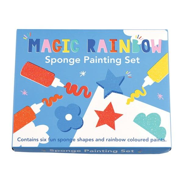 Magic Rainbow színes festőkészlet gyerekeknek - Rex London