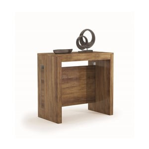 Rozkládací jídelní stůl v dekoru tmavého dubového dřeva Terraneo, 45až190cm