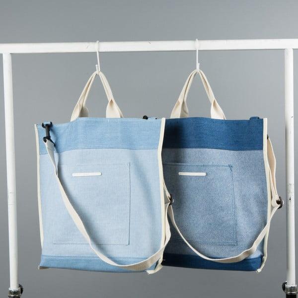 Oboustranná taška R Tote 231, tmavě modrá