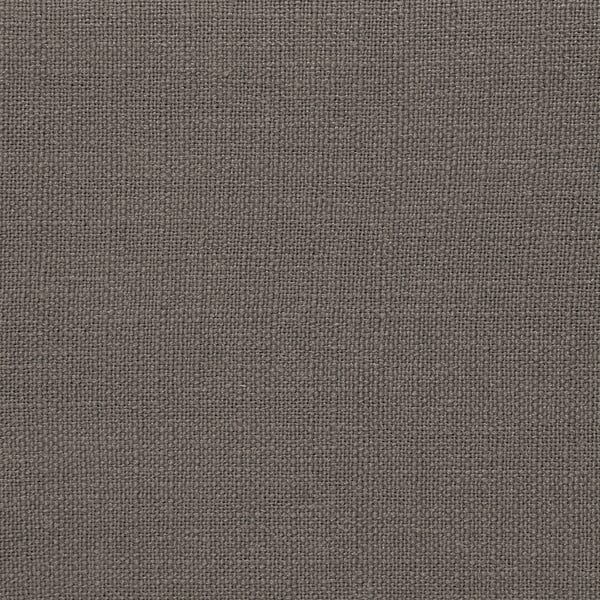 Šedý puf Vivonita Scarlet Linen, 105x39cm