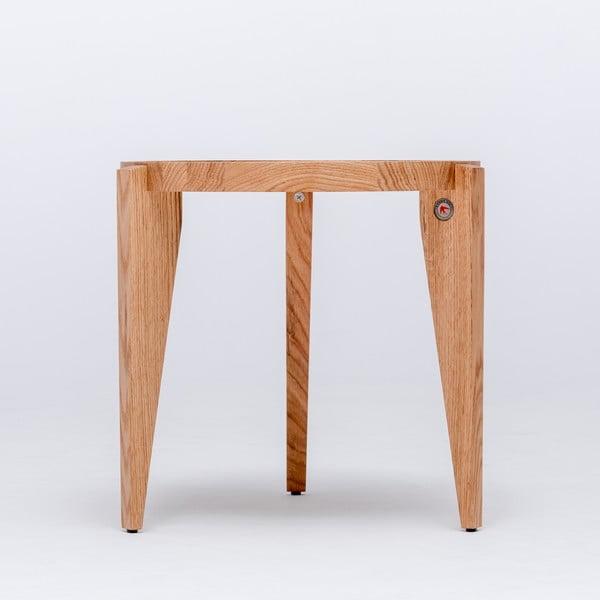 Dubový kávový stolek Bontri, 50x44 cm