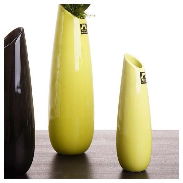 Váza Save 31 cm, zelená