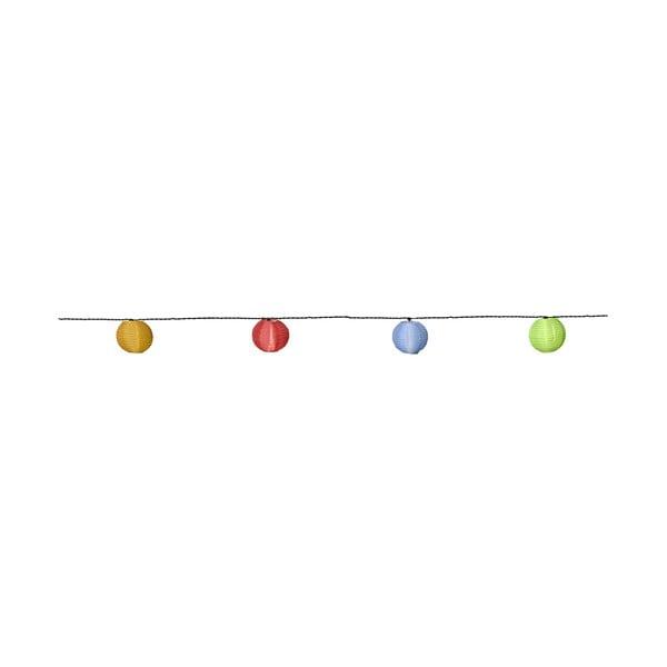 Světelný řetěz Rice Ball, barevný