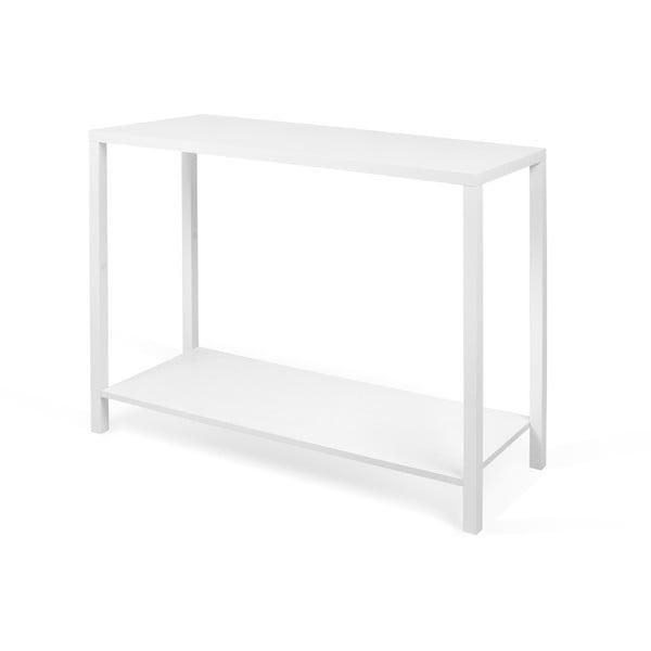 Bílý konzolový stolek TemaHome Basic