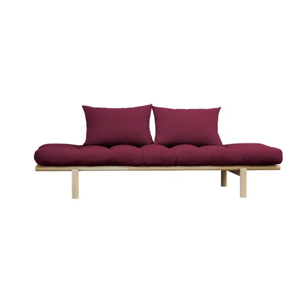 Pohovka Karup Design Pace Natural Clear/Light Bordeaux