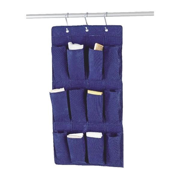 Závěsný organizér Blue Pockets