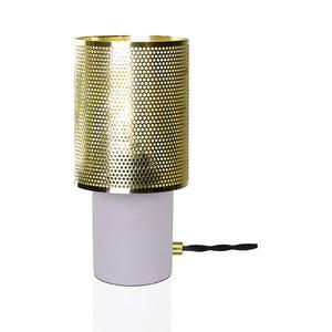 Stolní lampa v barvě mosazi GlobenLighting Rumble