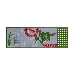 Kuchyňská rohožka Hamat Olives, 50x150cm