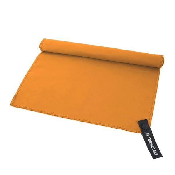Oranžová rychleschnoucí osuška DecoKing EKEA, 60 x 120 cm