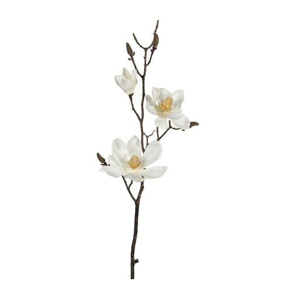 Umělá květina Magnolia Cream, 80 cm
