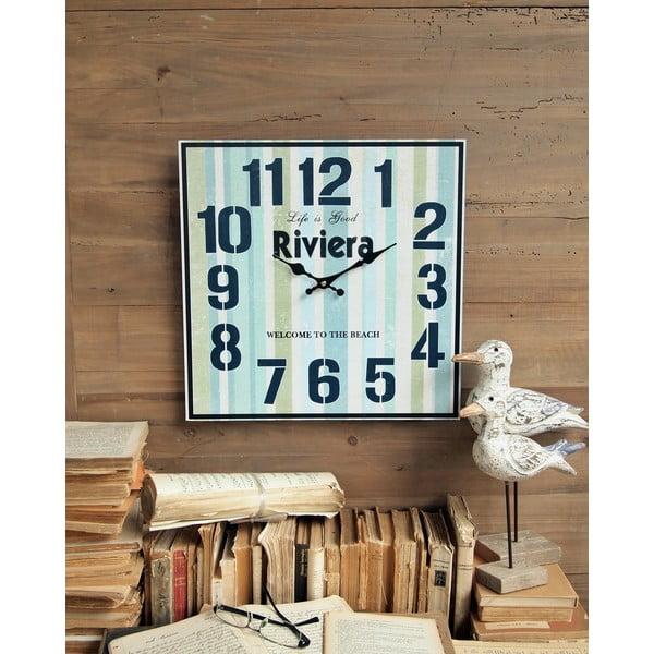 Nástěnné hodiny Riviera, 40 cm