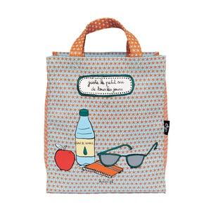 Nákupní taška Line Juste, blue/orange