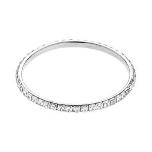 Náramek ze stříbra a zinku se skleněnými krystaly Ottaviani Lolly
