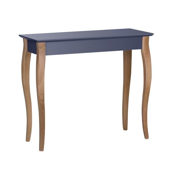 Console grafitszürke kisasztal, hossza 85 cm - Ragaba