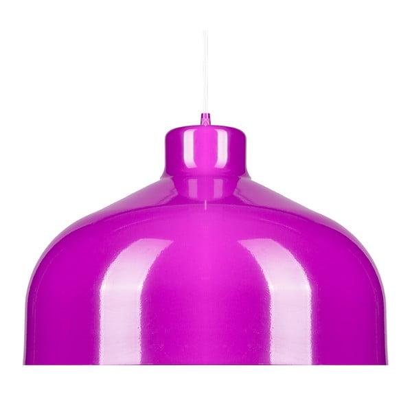 Fialové stropní světlo Loft You B&B, 44 cm