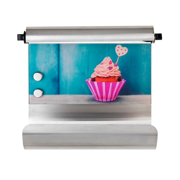 Magnetický držák na utěrky s dávkovačem na fólie Wenko Cupcake