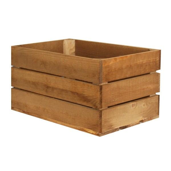 Přepravka Caja Rustica Envejecido, 50x25x30 cm