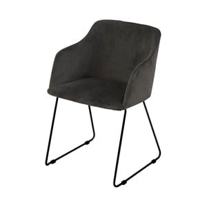 Antracitová jídelní židle Interstil Casablanca