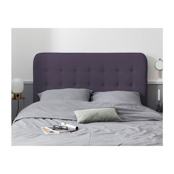 Tmavě fialové čelo postele HARPER MAISON Lena, 160 x 120 cm