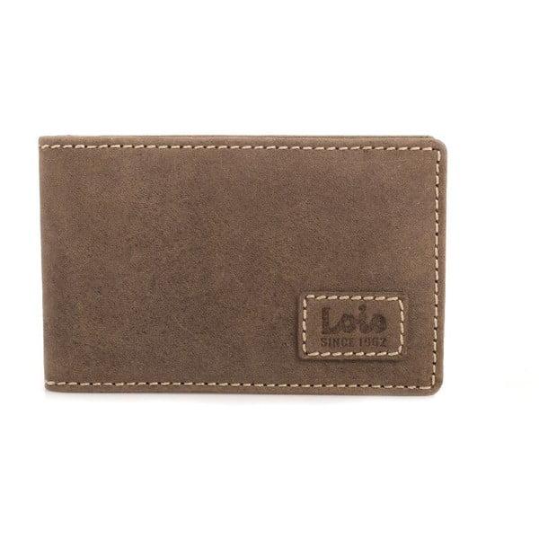 Kožená peněženka Lois Brown, 11x8 cm