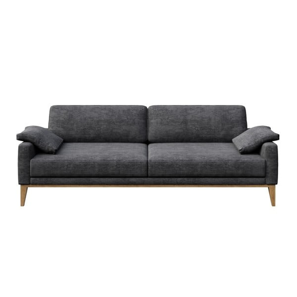 Canapea cu 3 locuri MESONICA Musso, gri închis