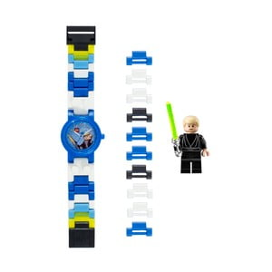 Ceas de mână și figurină LEGO® Star Wars Luke Skywalker
