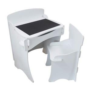 Dětský stolek a křesílko White