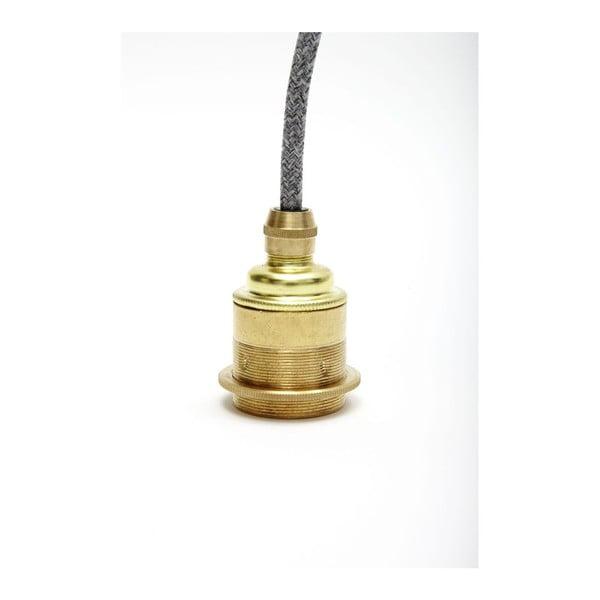Závěsný kabel Messingleuchte Messing/Grey