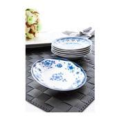 Sada 6 porcelánových talířků na omáčku Cihan Bilisim Tekstil