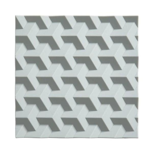 Origami Fold szürkéskék szilikon edényalátét - Zone