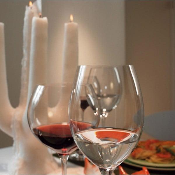 Sada 6 sklenic na červené víno LEONARDO Cheers, 520 ml