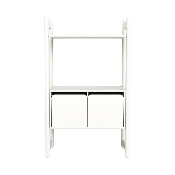 Biała szafka dziecięca Flexa Shelfie, wys. 131.6 cm