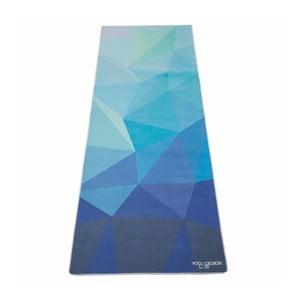 Ručník na jógu Yoga Design Lab Mat Geo Blue
