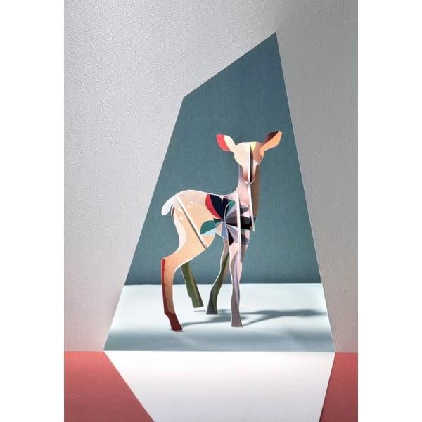 3D skládačka Totem Fawn