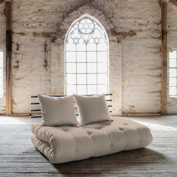 Canapea extensibilă Karup Shin Sano Black/Vision