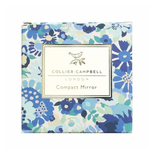 Kapesní zrcátko Portico Designs Bleu Floral