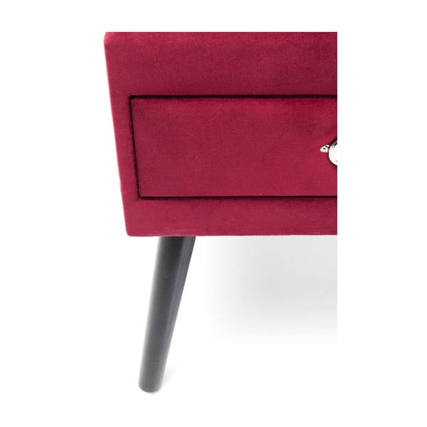 Červená stolička Kare Design Drawer