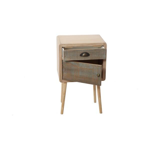 Odkládací stolek s dvířky a zásuvkou Bolzonella