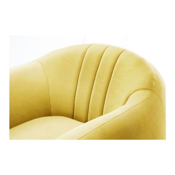 Křeslo Comete Stripes Yellow