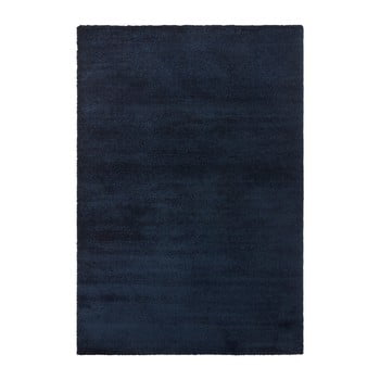 Covor Elle Decor Glow Loos, 200 x 290 cm, albastru închis