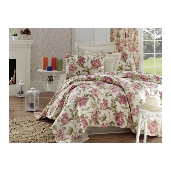 Narzuta na łóżko z czystej bawełny jednoosobowy Rosalita, 200x235 cm