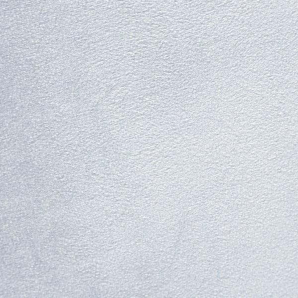 Modrošedé křeslo a podnožka s podnoží v černé barvě Vivonita Cora Velvet