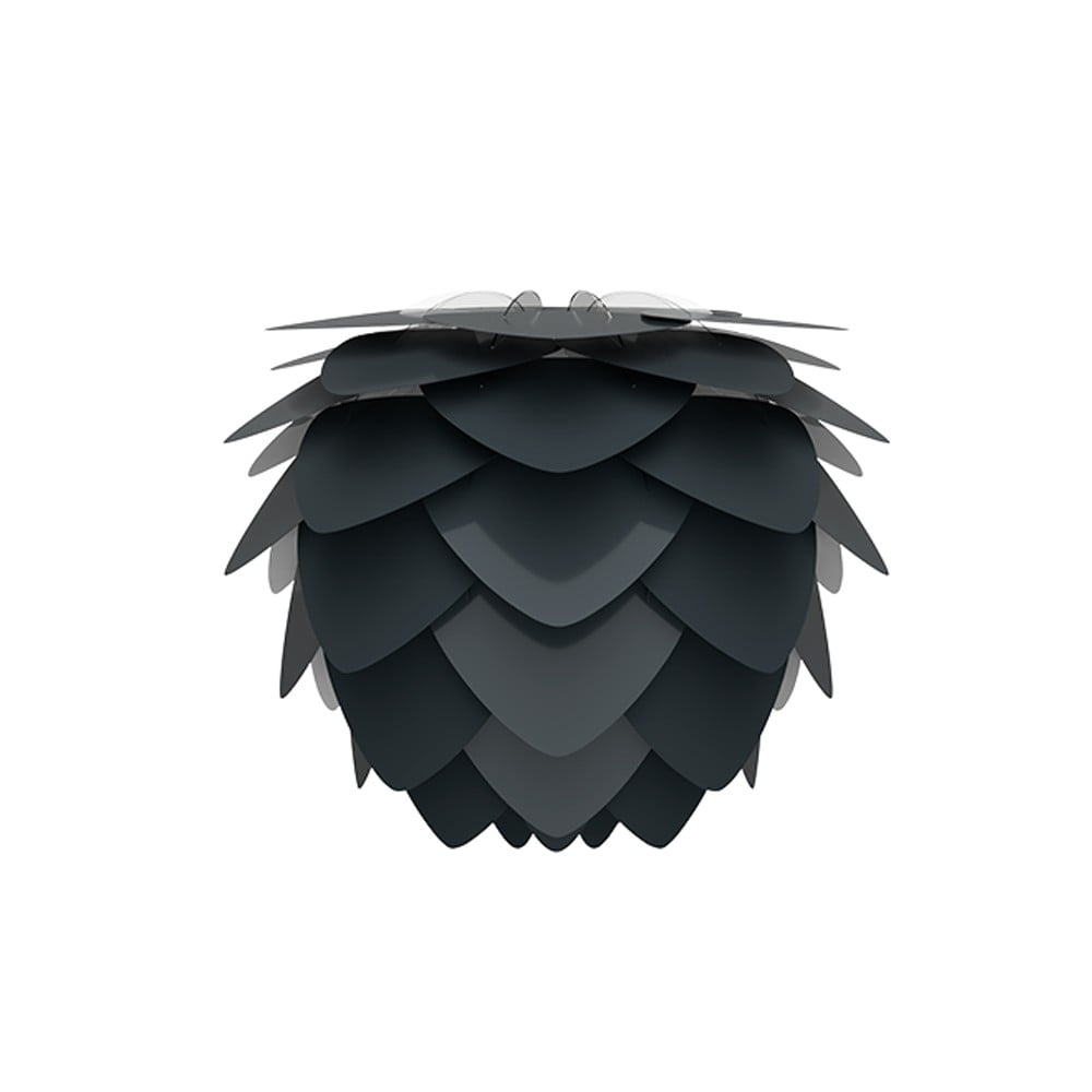 Černé stínidlo VITA Copenhagen Aluvia, Ø40cm